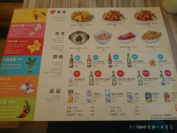 捷運美食→台北小巨蛋捷運站旁的韓國炸雞店→半半韓國炸雞@小巨蛋3F(試營運ing)