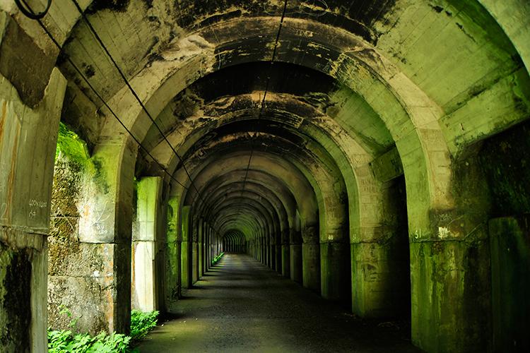 スゴログ 東赤谷連続洞門 隧道