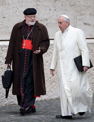 POpe Francis and Cardinal O'Malley