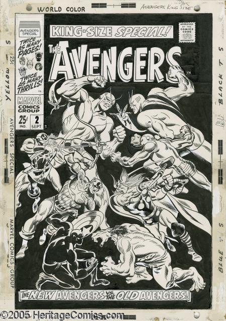 Original Comic Art Locator Opinion John Buscema