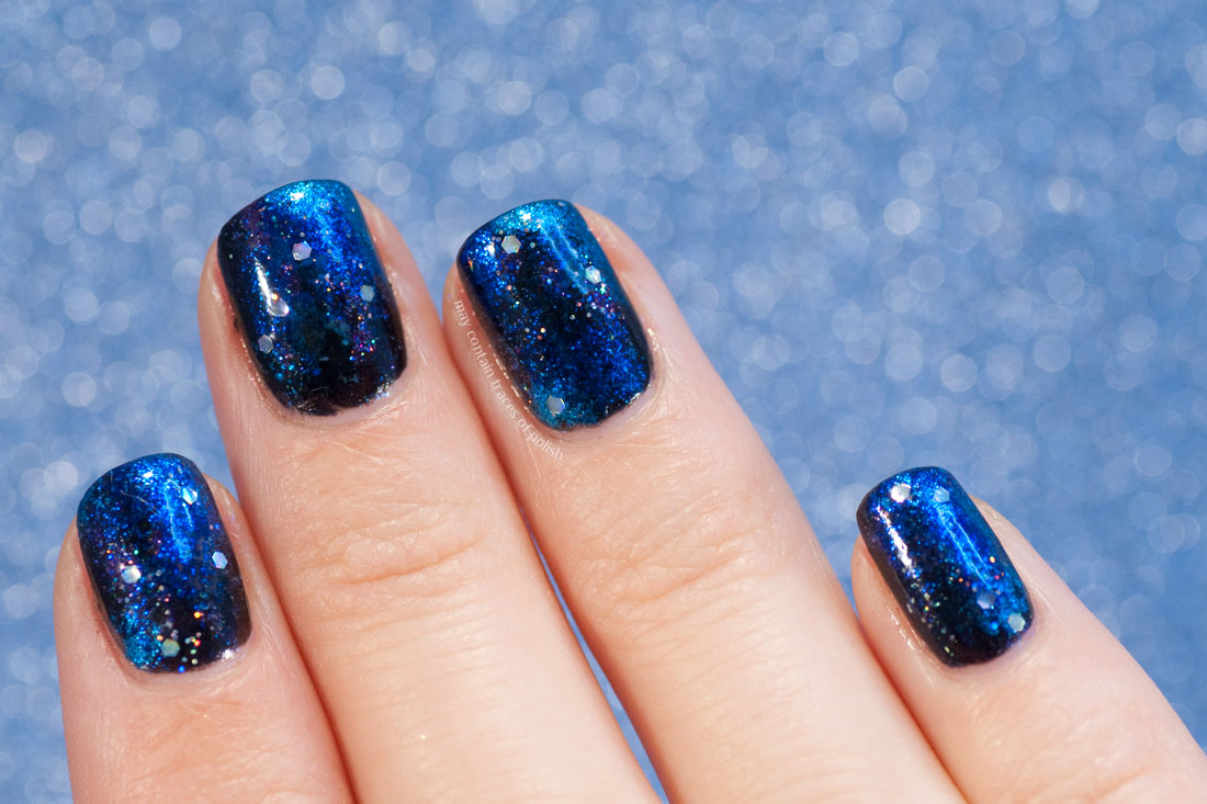 31 Day Challenge 2018: Day 19, Galaxy Nails