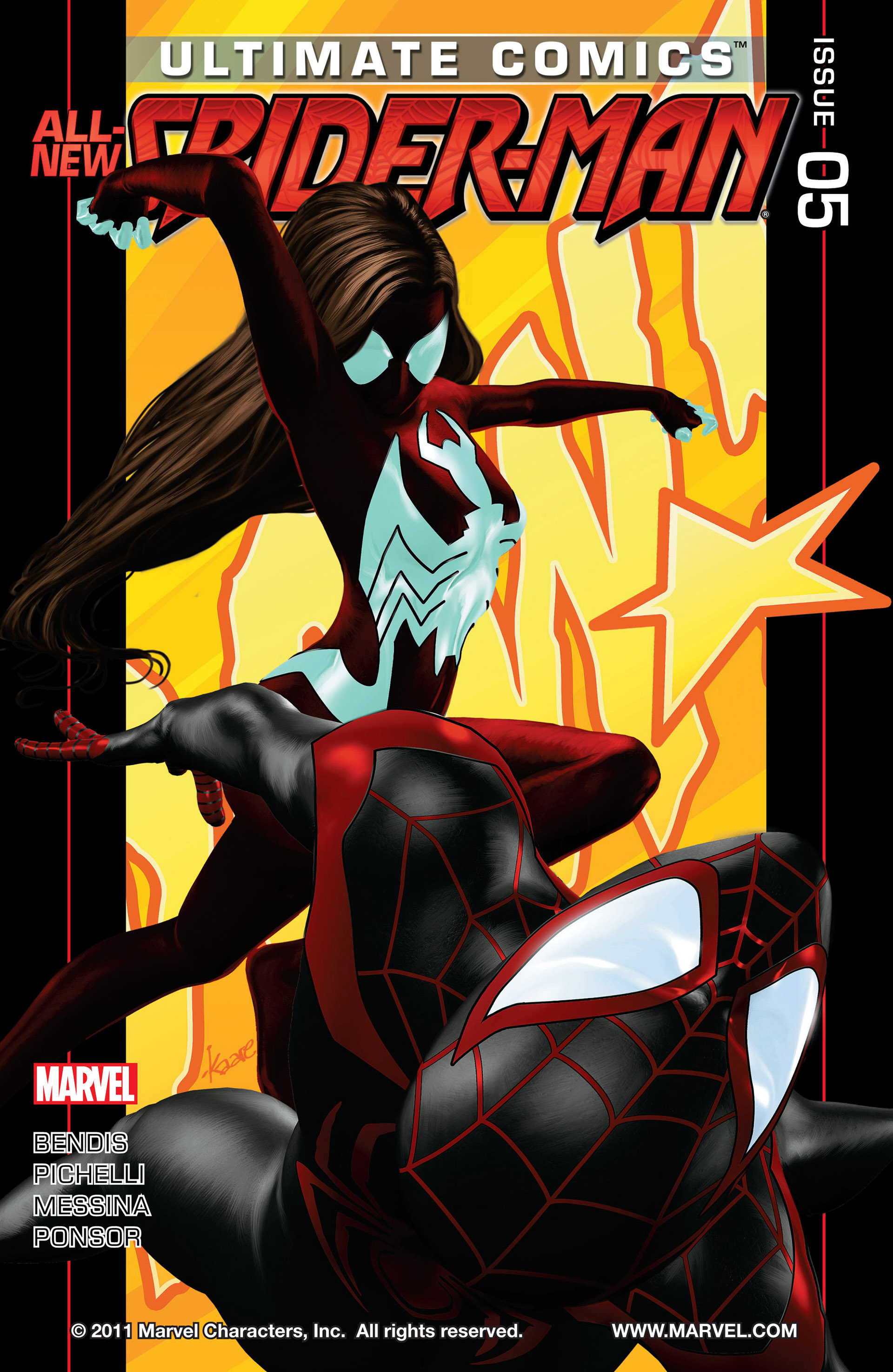 Read online Ultimate Comics Spider-Man (2011) comic -  Issue #5 - 1