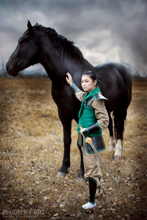 Once upon a blog two live action mulans looking for chinese casts for your diversion enjoy the mulan cosplay by ukranian cosplayer buta kun many more photos at the link fandeluxe Gallery
