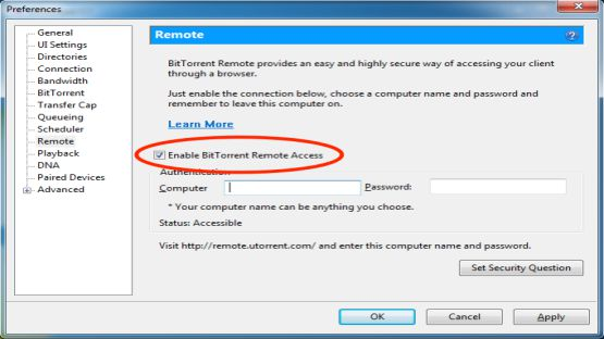 BitTorrent screenshot 4
