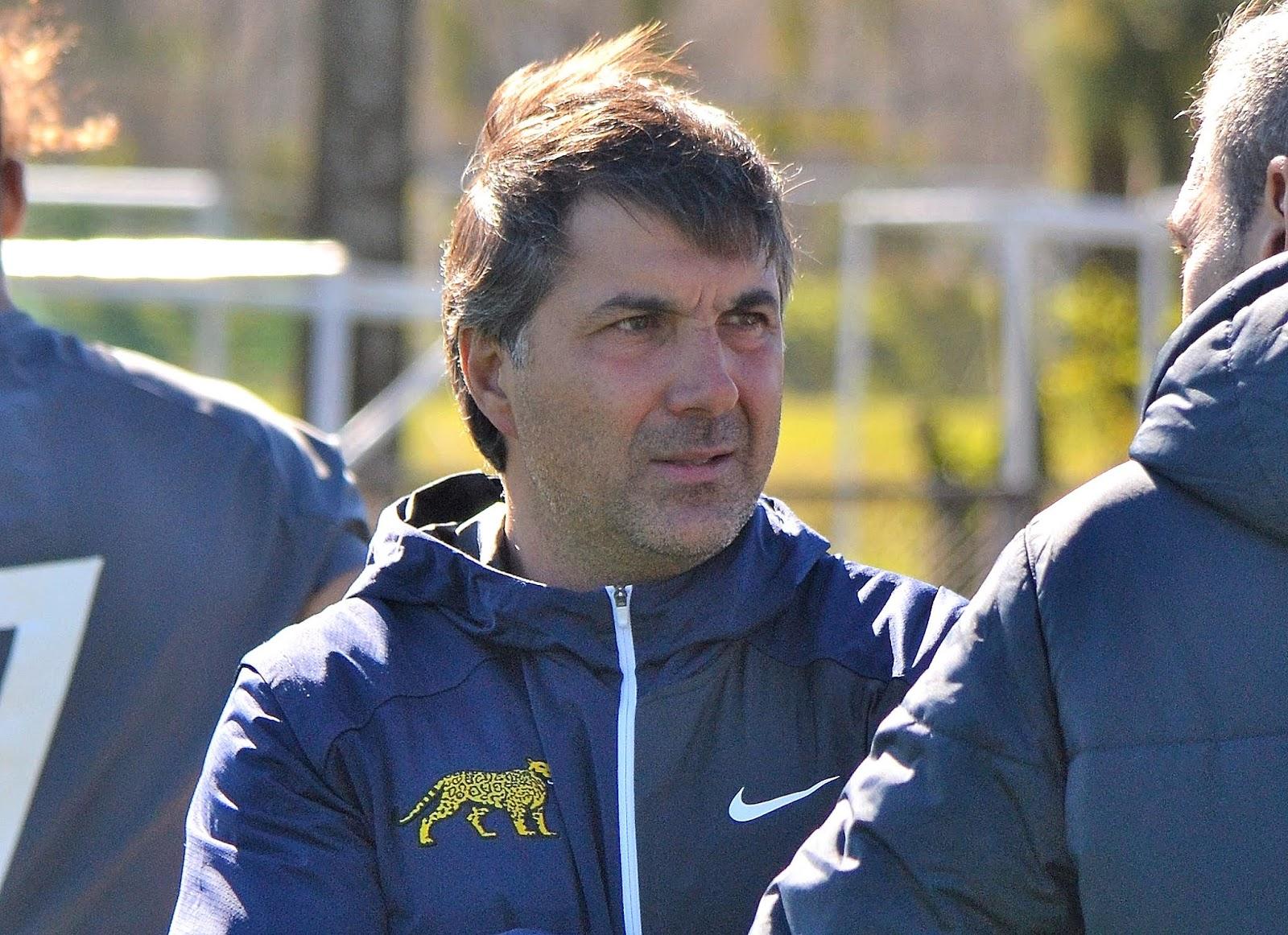 Diego Rodríguez, entrenador de Argentina 7s M18