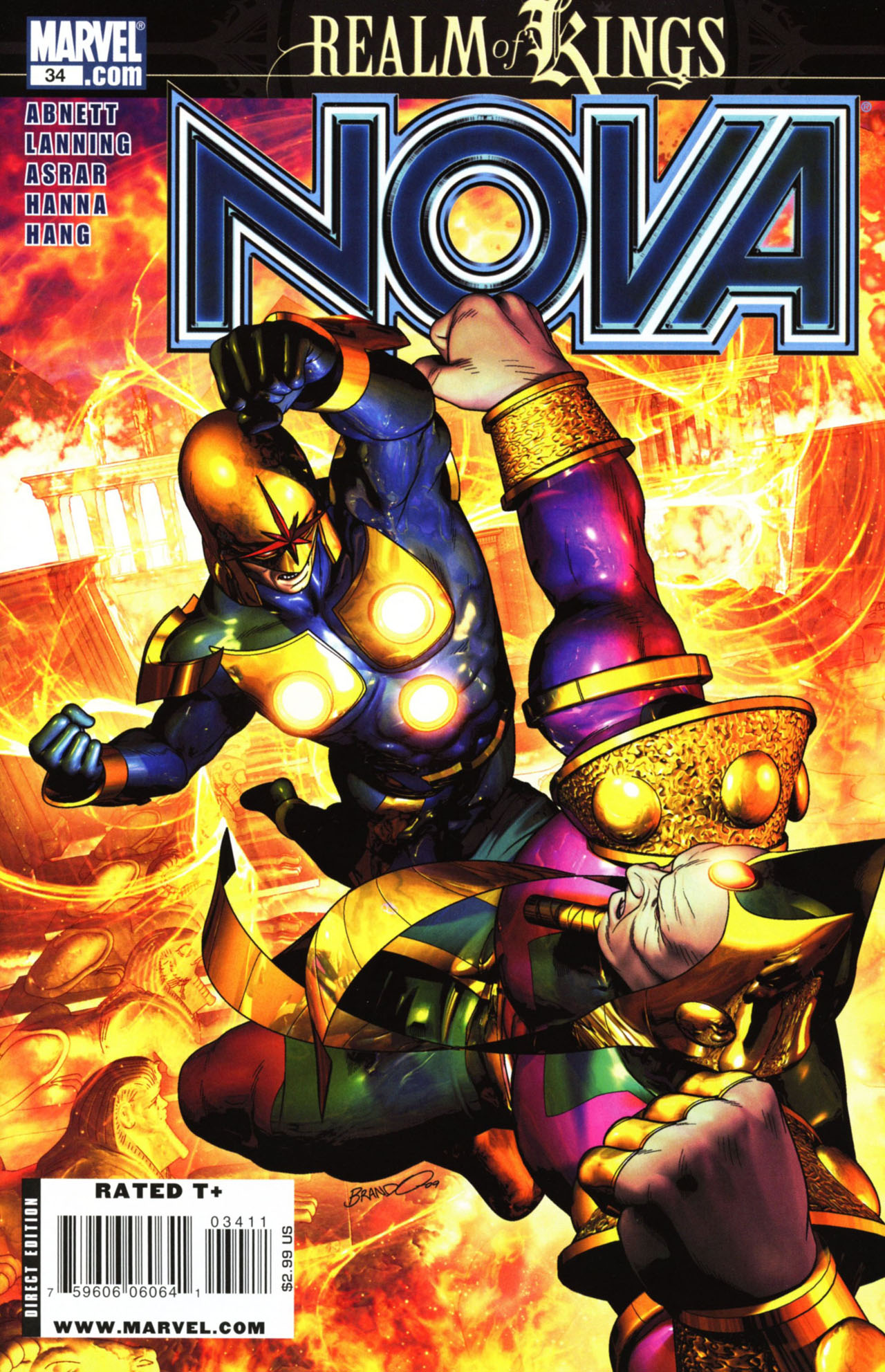 Nova (2007) issue 34 - Page 1