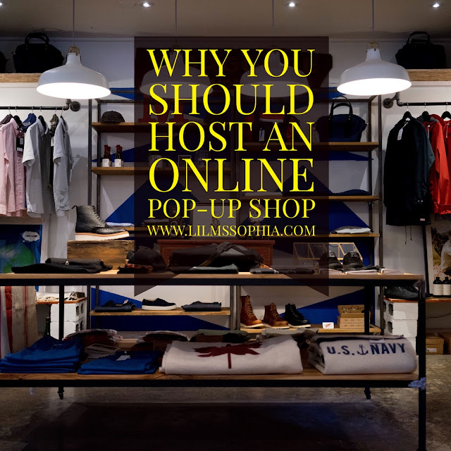 Online Pop-Up Shop