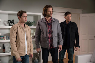 Supernatural Jared Padalecki and Jensen Ackles and Alexander Calvert