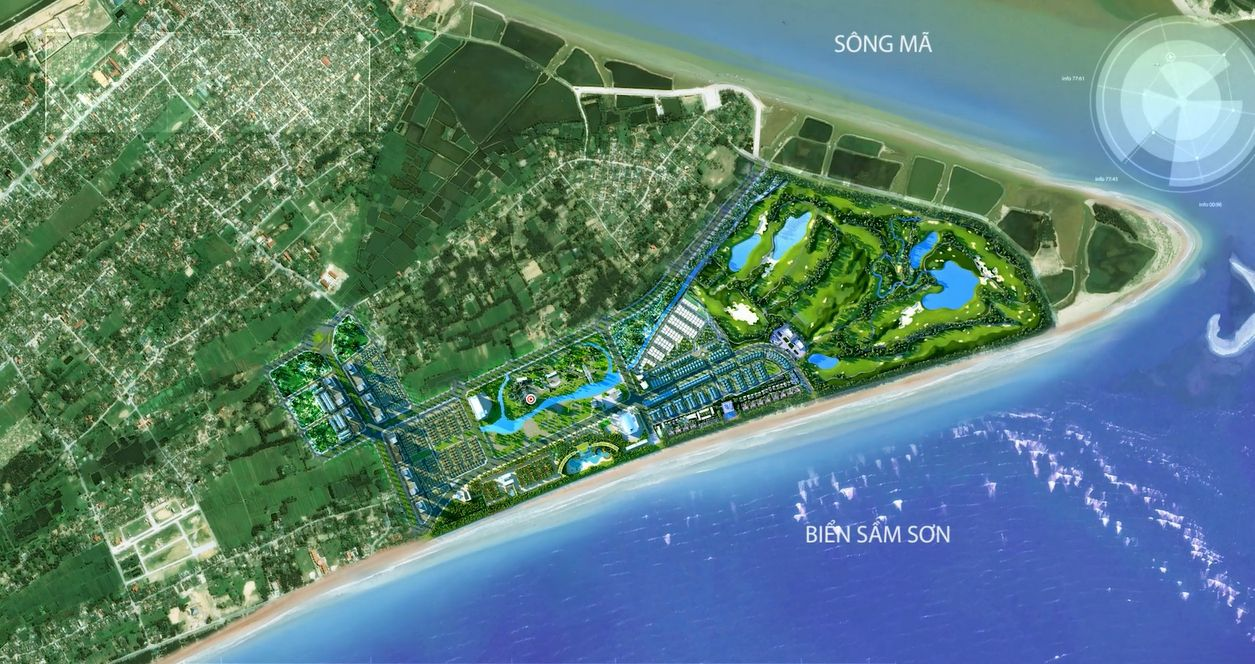 Tổng thể dự án FLC Sầm Sơn Thanh Hóa