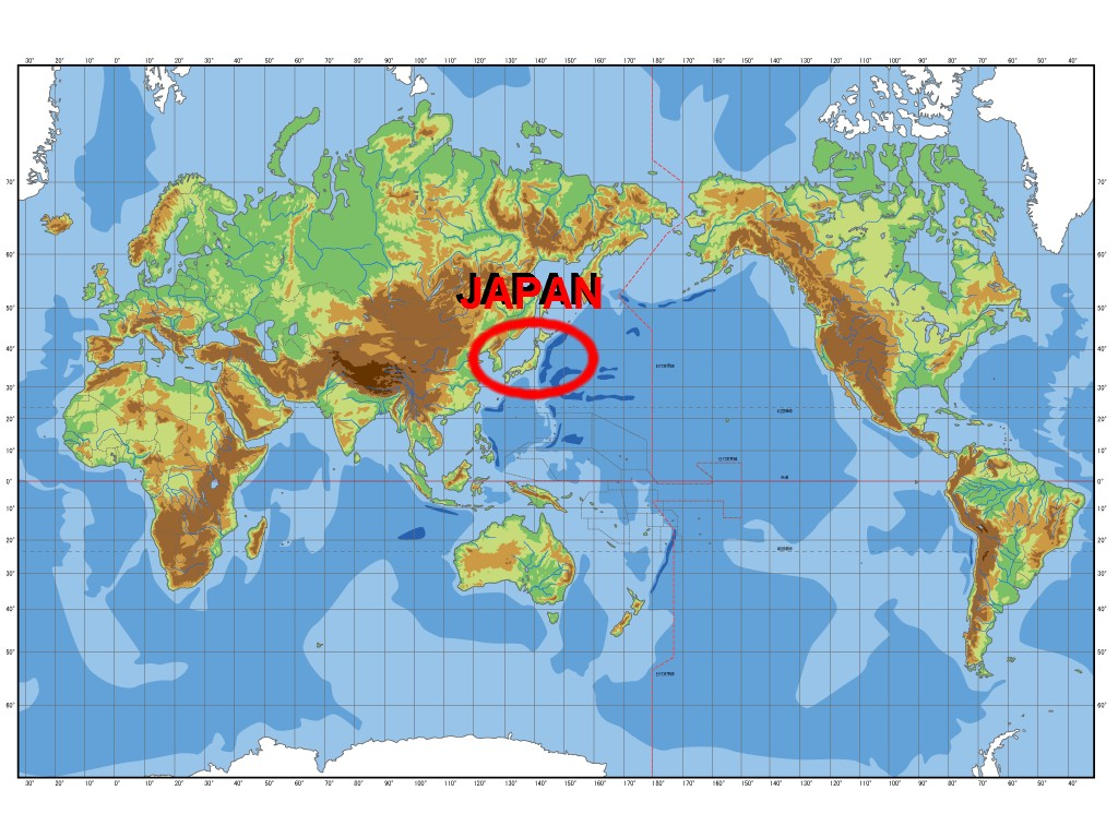 Where Is And What S What Japan So Where Is Japan Location Of The Japan Island In The World Map