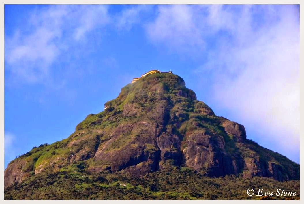 Eva Stone photo, Sri Pada, Adam's Peak, holy mountain, pilgrimage, April 2015