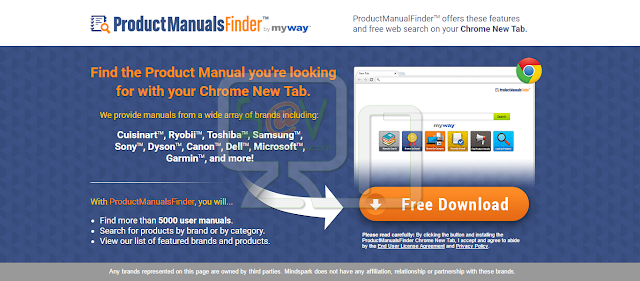 ProductManualsFinder Toolbar