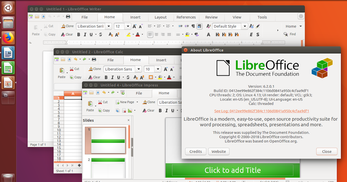 Getting LibreOffice 6 2 Portable Version on GNU/Linux