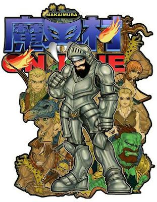 Un'illustrazione del primo Makaimura Online