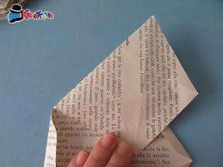 origami fai da te stella 3d
