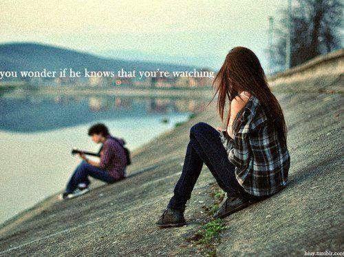 Prilaku orang yang sedang jatuh cinta pada kamu