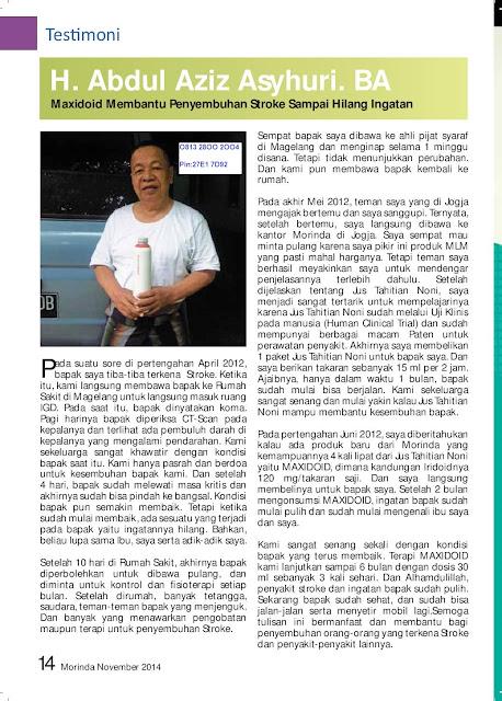 Jual Tahitian Noni di Jakarta Barat