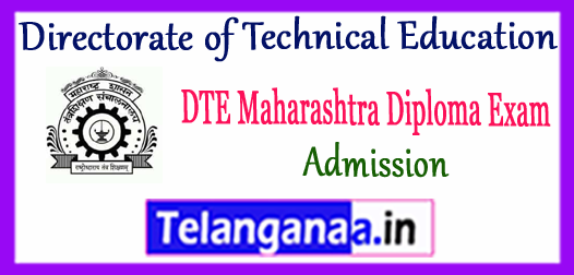 DTE Directorate of Technical Education Maharashtra Diploma Admission 2018 Application