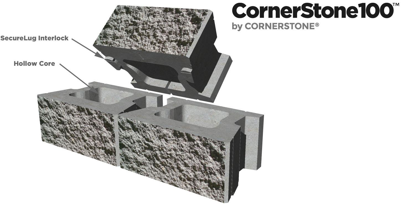 Cornerstone Retaining Wall Blocks