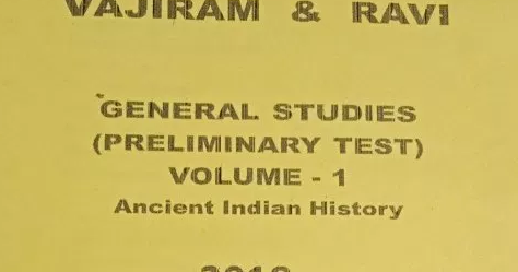 Vajiram and Ravi Ancient India Printed Notes Download - Upsc Materials
