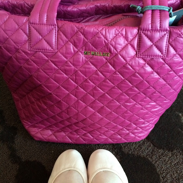 MZ Wallace Metro Tote and Tieks Shoes