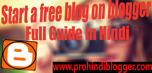start a free blog on blogger
