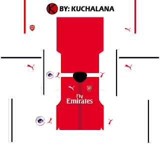 Arsenal Kits 2016/2017 - Dream League Soccer 2015