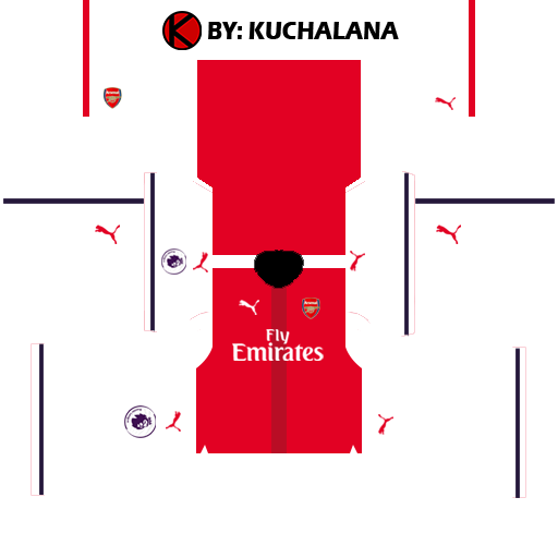 Arsenal Kits 2016/2017 - Dream League Soccer 2015