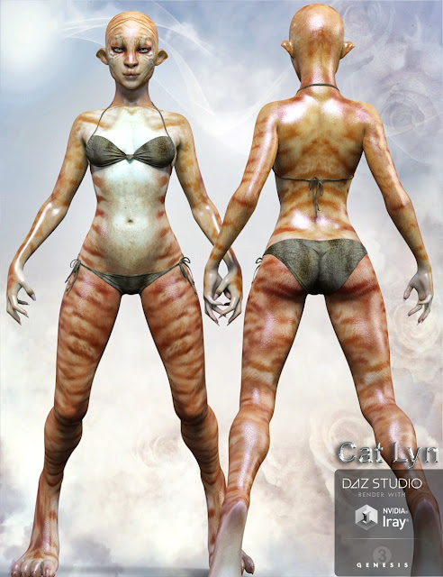 Cat Lyn for Genesis 3 Female