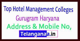 Top Hotel Management Colleges in Gurugram (Gurgaon) Haryana