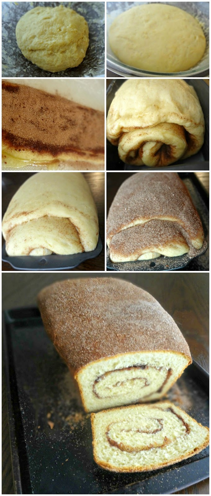 Cinnamon Sugar Swirl Bread