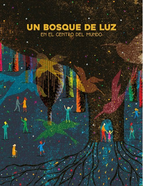Quito cuenta ya con un Bosque de Luz para iluminar sus noches