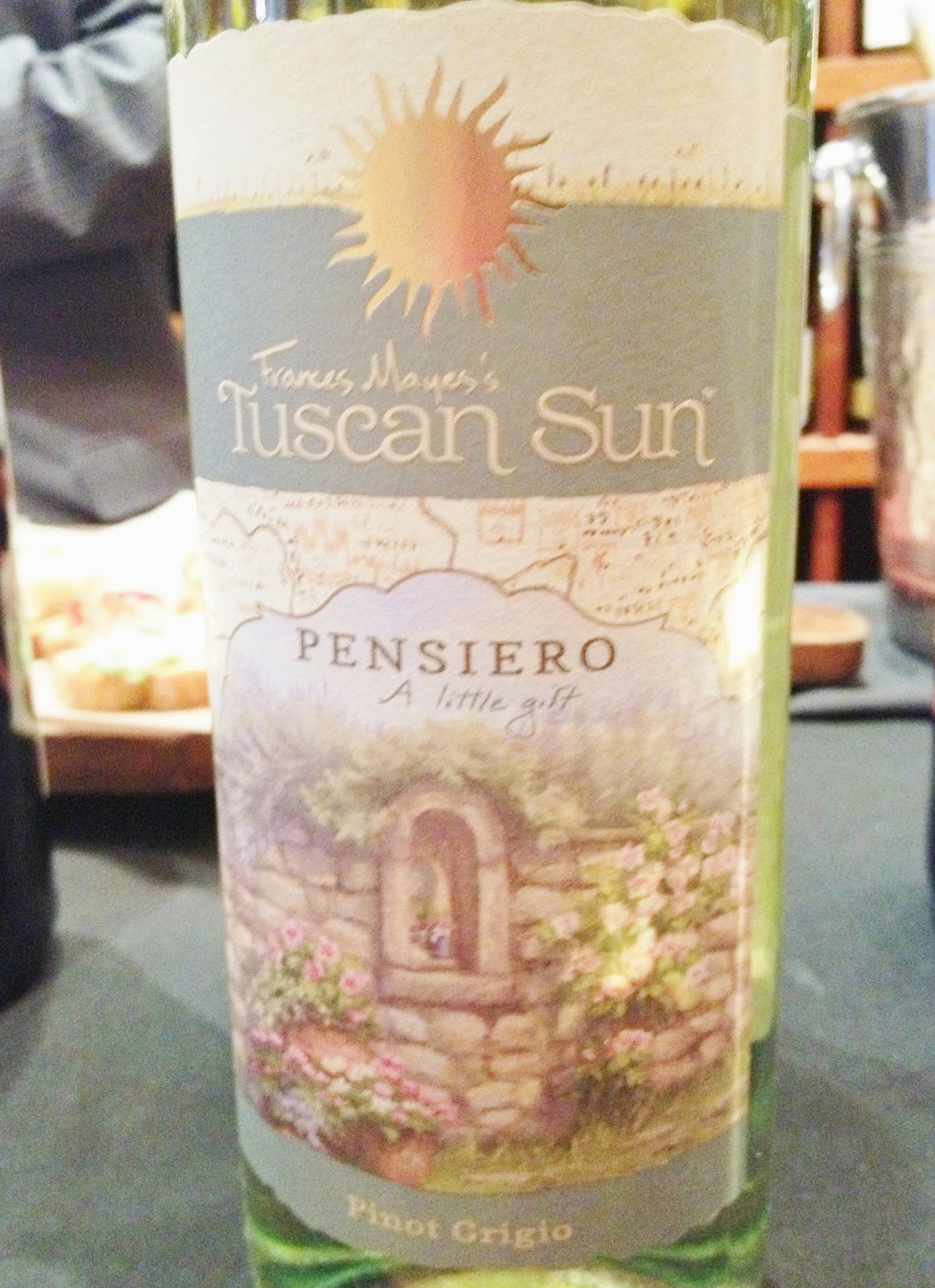 Pensiero Frances Mayes Tuscan Sun wines