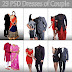 23 PSD Couple Dresses Free Download
