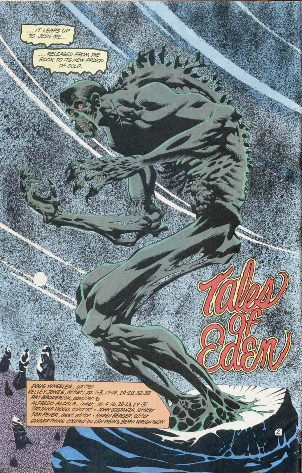 Swamp Thing (1982) Issue #100 #108 - English 3