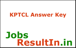 KPTCL Junior Assistant Answer Key