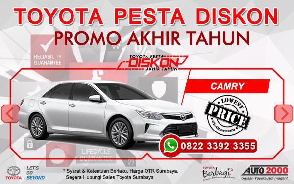 Promo Akhir Tahun Toyota Camry Surabaya