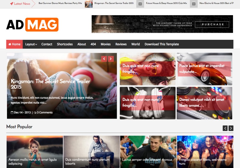 Ad Mag Premium Version Blogger Template free download, Blogger Template free download,Ad Mag Premium Version Blogger Template