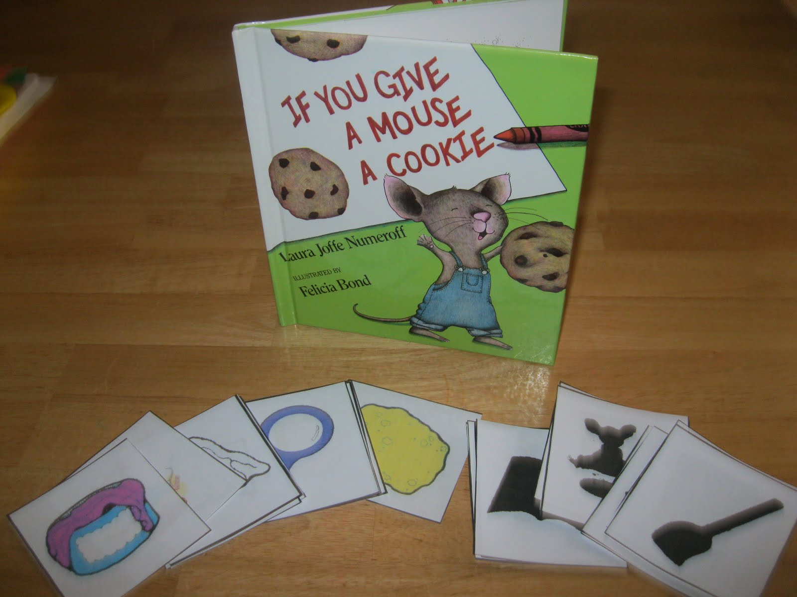 The Preschool Experiment Tot Trays If You Give A Mouse A