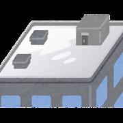 屋上防水のイラスト