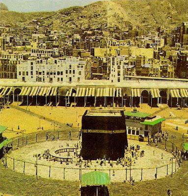 Koleksi Gambar Kabah dan Masjidil Haram Tempo Dulu  islam