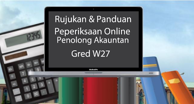 Rujukan Peperiksaan Online Penolong Akauntan Gred W27