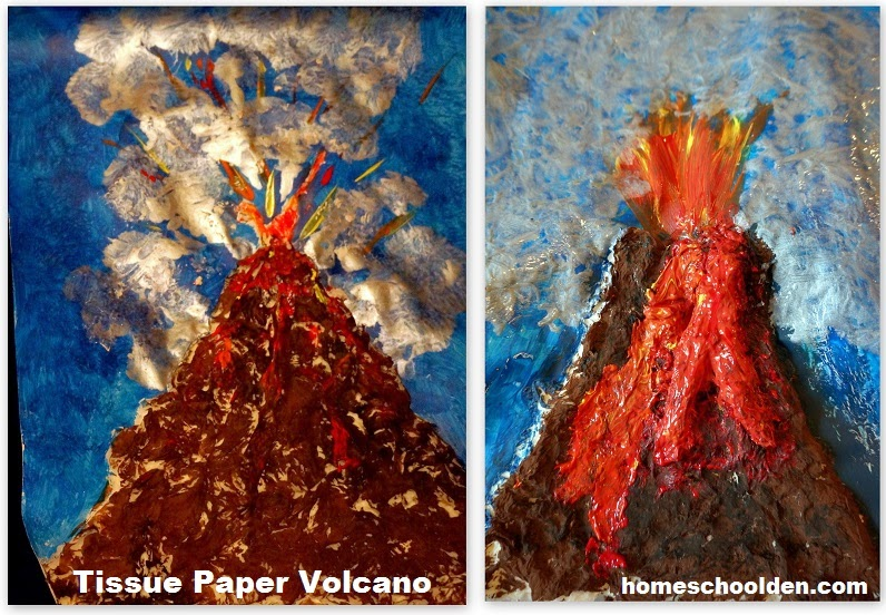 A science report on volcanoes