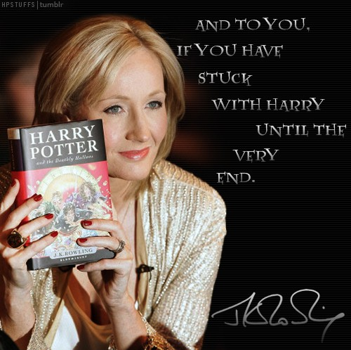Essay on my favourite author j k rowling