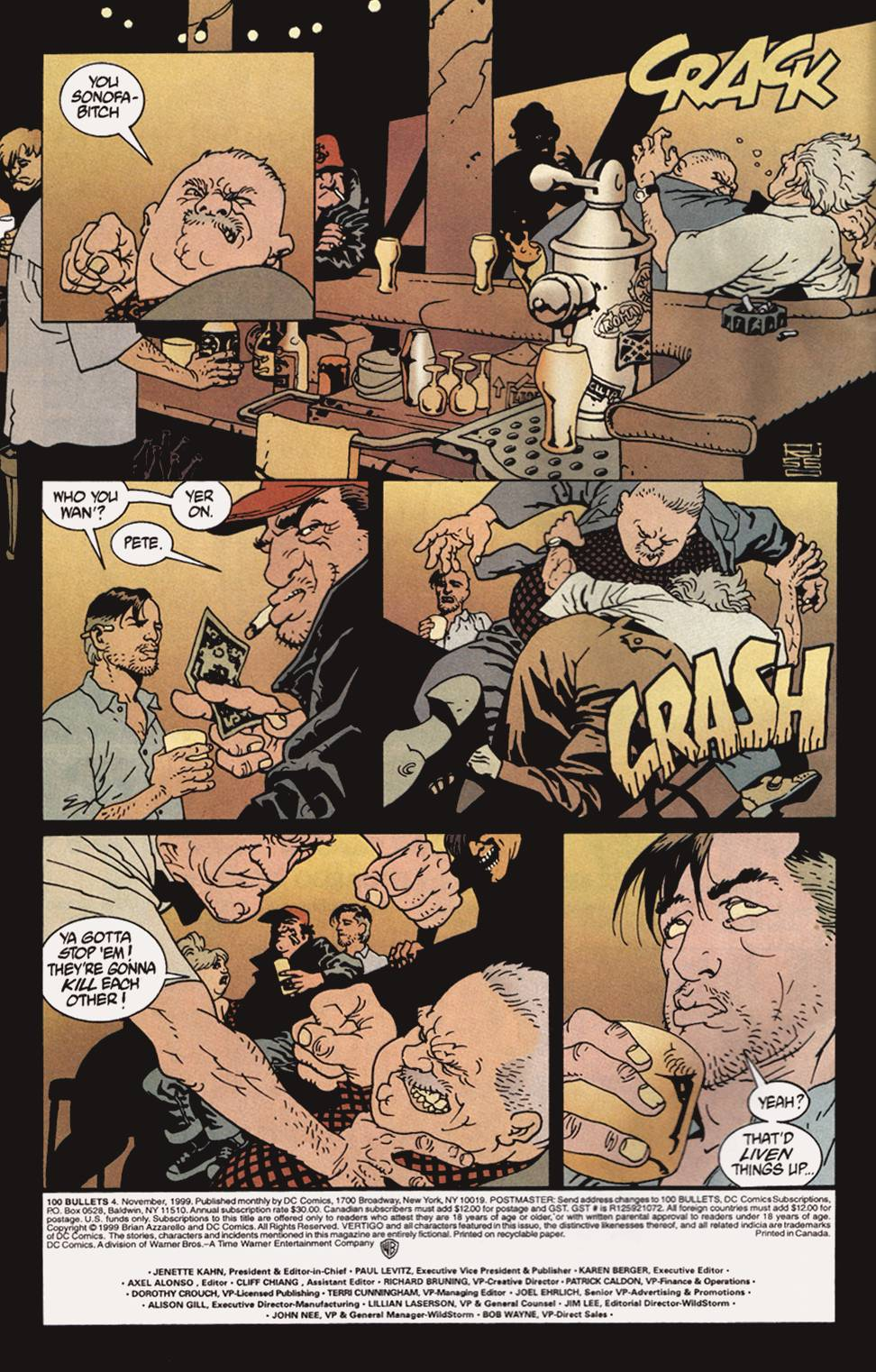 Read online 100 Bullets comic -  Issue #4 - 3