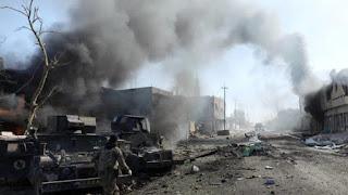 Bom Truk Hantam Bus Peziarah Syiah di Pom Bensin Karbala, 97 Tewas