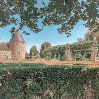 The New Blacck - blog - chamerolles - chilleurs aux bois - jardins - fleurs