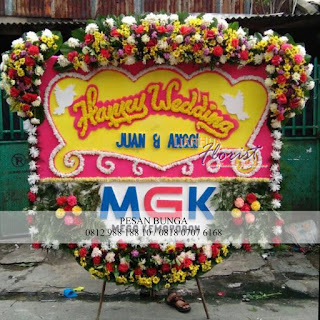 Florist Jakarta, Jual bunga papan murah dijakarta, bunga papan pernikahan,