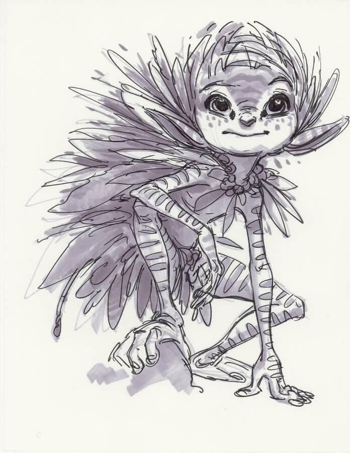 12-Aaron-Blaise-Creature-Sketches-www-designstack-co