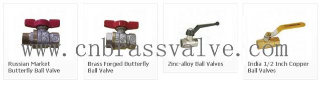 1/4 Turn Brass Ball Valves